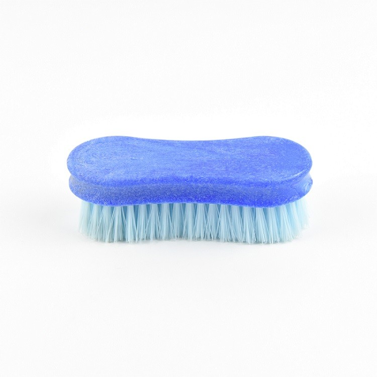Plastic  5-inch horse grooming brush products in the shape of an 8